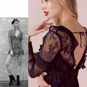 NWT FOR LOVE AND LEMONS Daphne lace mini dress